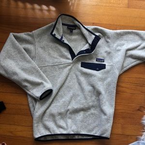 Patagonia synchilla snap -t preppy